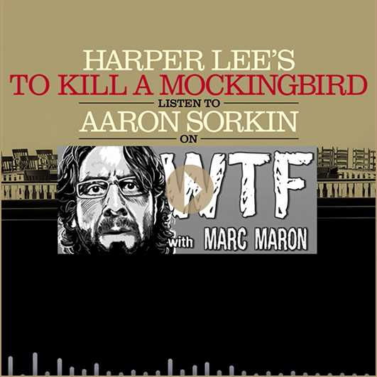 Aaron Sorkin on WTF with Marc Maron | London's West End, 2020. #AllRise